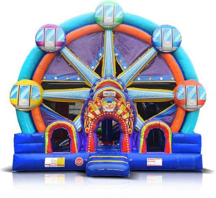 Ferris Wheel 5 in 1 Combo Bounce