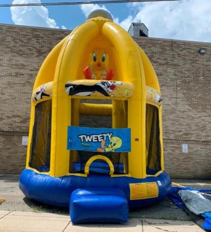 Tweety Bird Bounce House