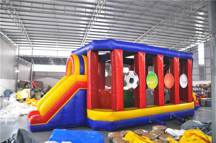 Sports Theme Wipeout Obstacle Course