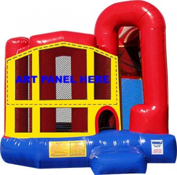 5 in 1 Jump/Slide Combo Bounce
