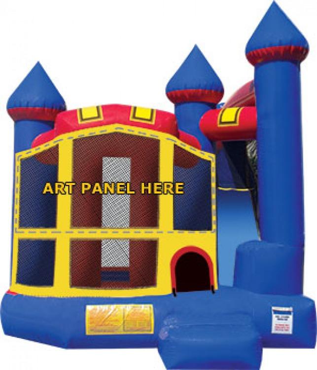 Castle Jump/Slide Combo