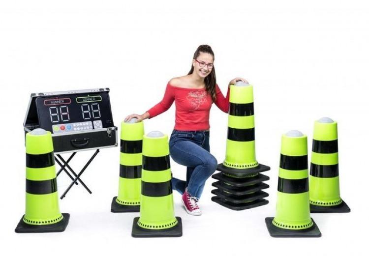 Interactive Cone Battle